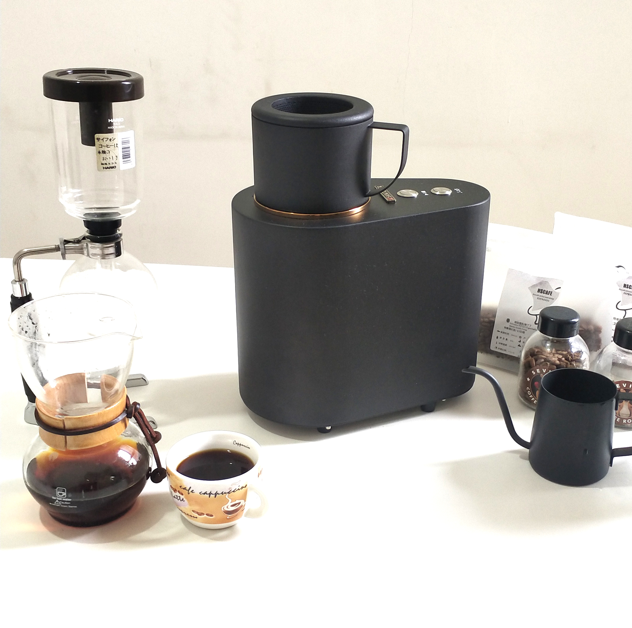 50g commercial hot air coffee roaster